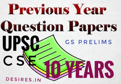 Download UPSC 10 year previous year question paper
