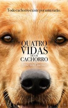 Capa do Filme Quatro Vidas de um Cachorro