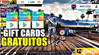 COMO GANHAR GIFT CARDS DA GOOGLE PLAY GRÁTIS