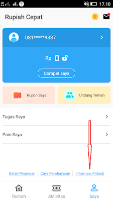 cara mendapatkan uang gratis dari aplikasi rupiah cepat