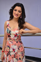 Actress Richa Panai Pos in Sleeveless Floral Long Dress at Rakshaka Batudu Movie Pre Release Function  0084.JPG
