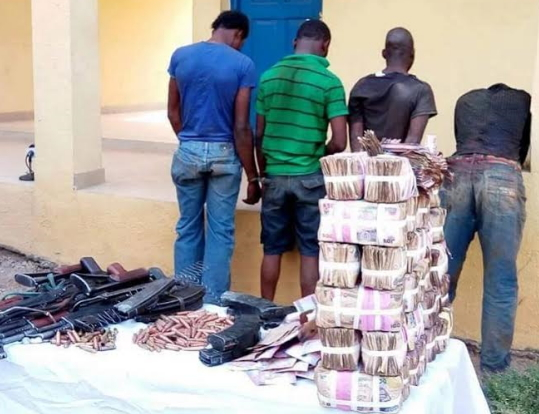 23 armed robbers arrested in Lagos