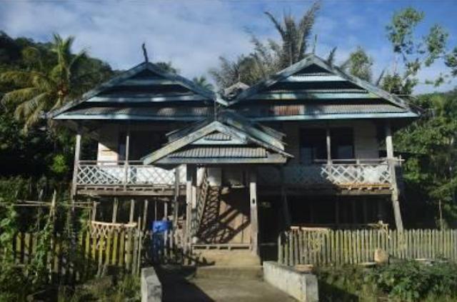 Rumah Adat Matakali Maiwa