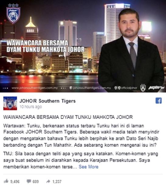 Peringatan TMJ Buat Media