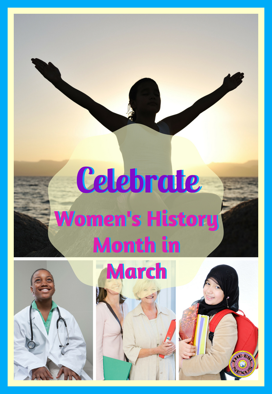 11 useful resources for celebrating Women's History Month | The ESL Connection