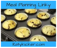 Meal planning linky button