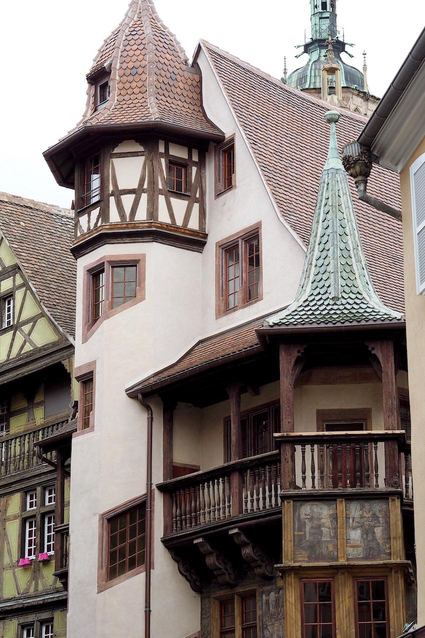 Maison Pfister (ein mittelalterliches Hutmacherhaus)