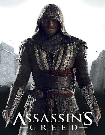 Poster Of Assassin's Creed 2016 Hindi Dual Audio 140MB HDTS HEVC Mobile Free Download Watch Online 300mb.cc