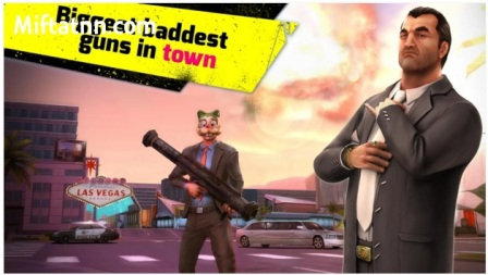Game Action Perang Geng Android Gangstar Vegas APK