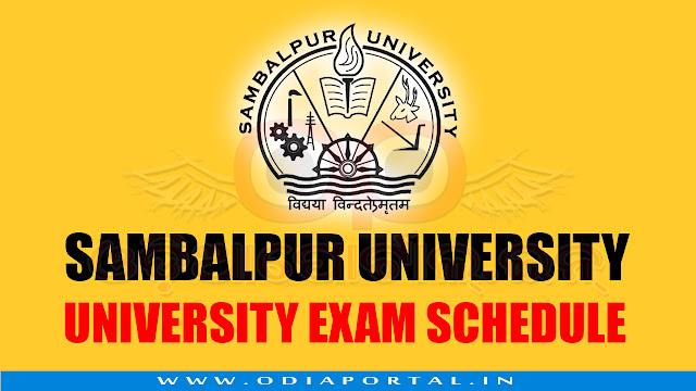 Sambalpur University: 2018 +3 First Year Examination - Download Time Table/Schedule, plus3 1st year sambalpur university 2018 time table, routine, schedule download pdf,