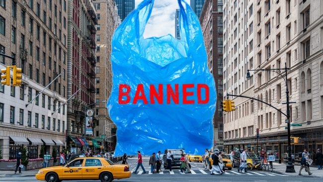 New York Is Now The Second State After California To Ban Plastic Bags