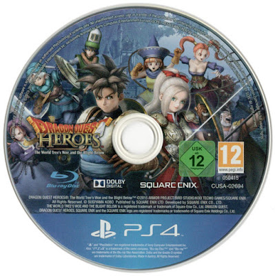 Label Dragon Quest Heroes PS4