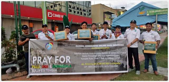 AJO Indonesia DPD Kepri Galang Donasi
