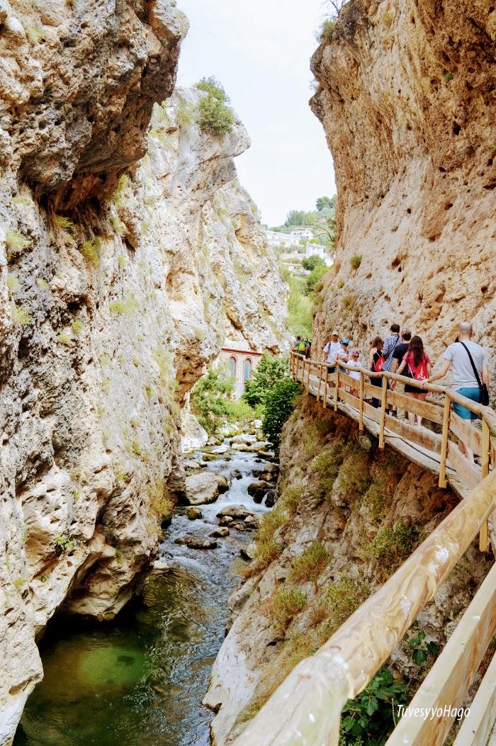 Desfiladero Cerrada de los Angeles Castril - A una hora de Granada - TuvesyyoHago