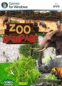 Did you ever wonder how it was like to be on the other side of the fence Zoo Rampage-HI2U