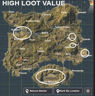 Pubg Flare Gun Locations Miramar - Pubg Free Download Xbox