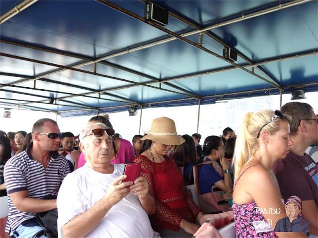Kondisi Ferry ke Koh Larn