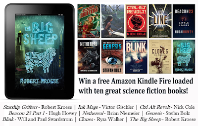 Robert Kroese Kindle Fire Giveaway - Nethereal