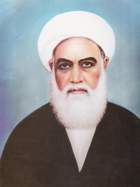 آية الله المعظم المجاهد المظلوم المولى الميرزا علي الحائري الإحقاقي قدس سره الشريف