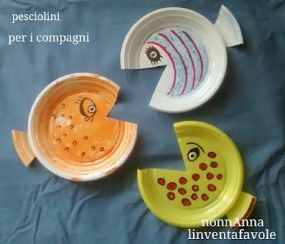 Linventafavole pesciolini con il riciclo regalini per i compagni - Tavole massoniche per compagni ...