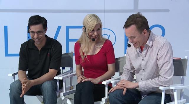 Nintendo Treehouse Audrey Live E3 2015 giggle teehee