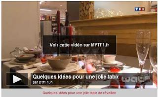 comment dresser une belle table pour les f tes le blog de loftboutik. Black Bedroom Furniture Sets. Home Design Ideas