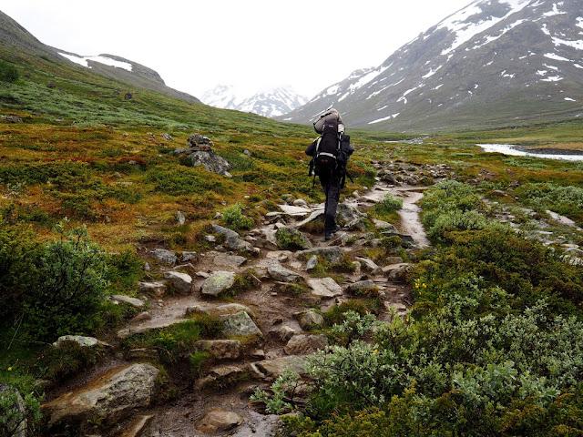 Spiterstulen, trek, Norsko, národní park, příroda