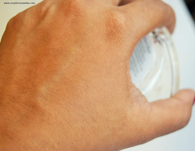 Catrice Cosmetics All Matte Plus Powder in 030 Warm Beige Swatch