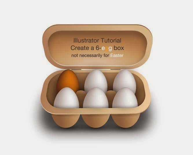 Adobe Illustrator tutorial: create a 6-egg box