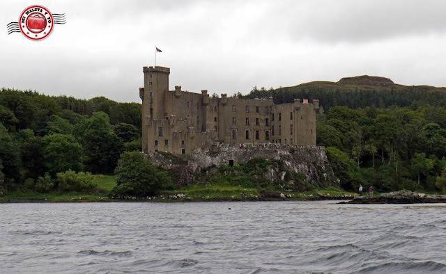 Escocia, Skye Island, castillo de Dunvegan