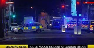 Ζωντανή σύνδεση από το Λονδίνο - Τριπλό τρομοκρατικό χτύπημα