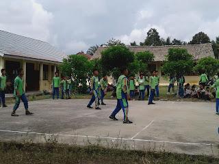 Acara Sparing Mts Miftahussalam vs SMPN Lubuk Tua
