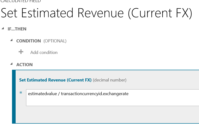 Calculated Field In Dynamics Crm