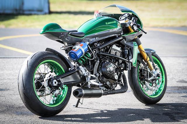 Kawasaki Vulcan Cafe Racer