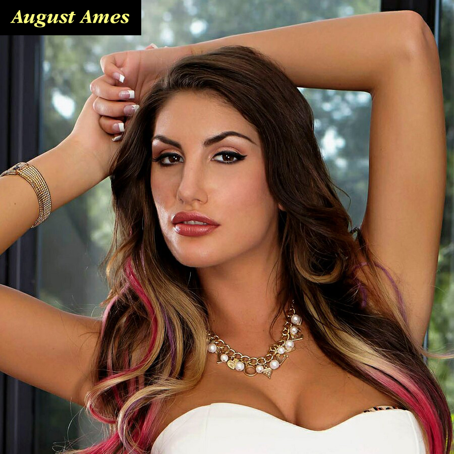 August Ames In Fast Car