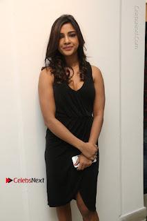 Telugu Actress Kamna Singh Stills in Black Dress at Bharat Thakur Art Exhibition Launch  0022.jpg