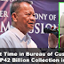 GOODNEWS: First Time in Bureau of Customs History, P42 Billion Collection in 1 Month