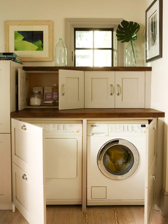 Ideas For Hiding The Washer And Dryer Driven By Decor
