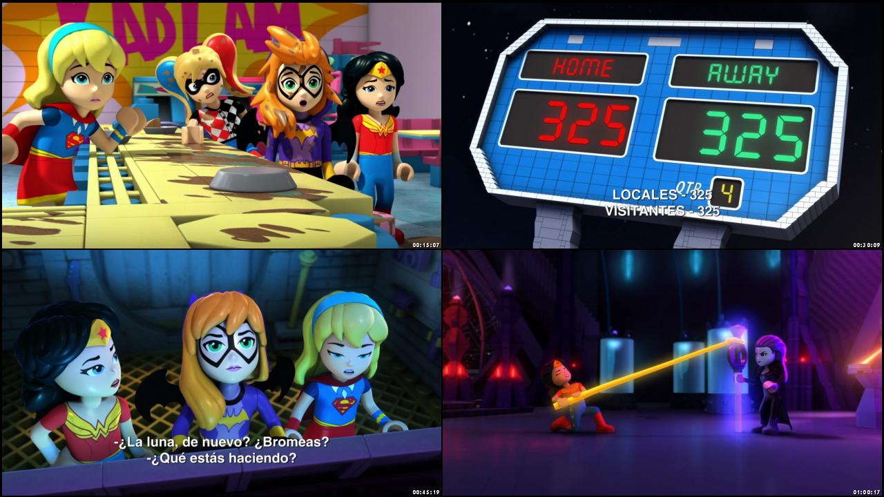 Lego DC Super Hero Girls: Brain Drain (2017) 1080p Espaol