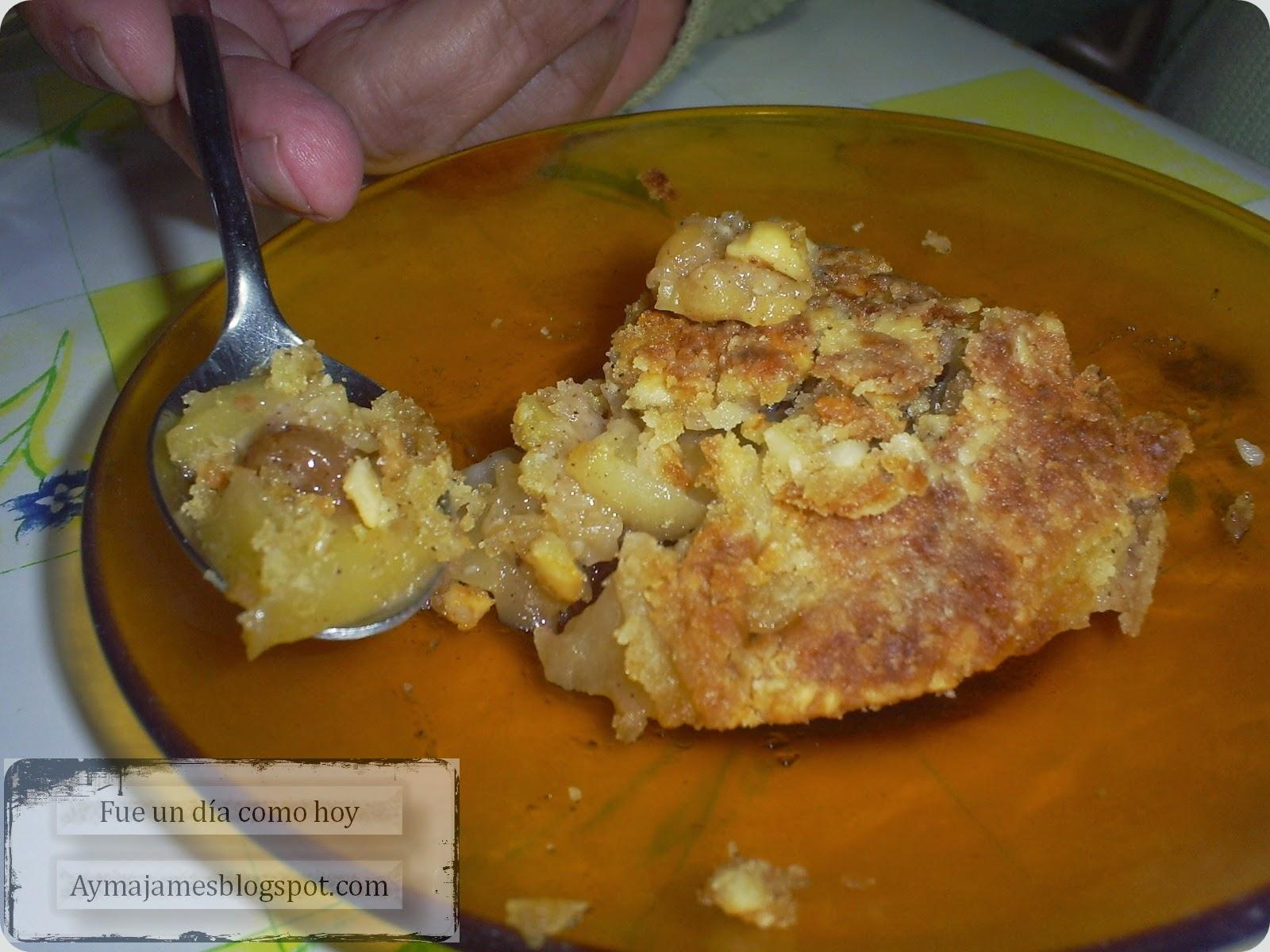 Crujiente de manzana / Fue un día como hoy