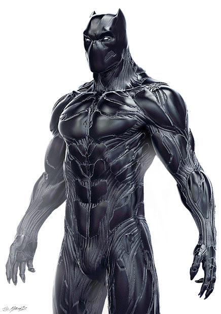 Early Black Panther Concept Design Revealed - Ign