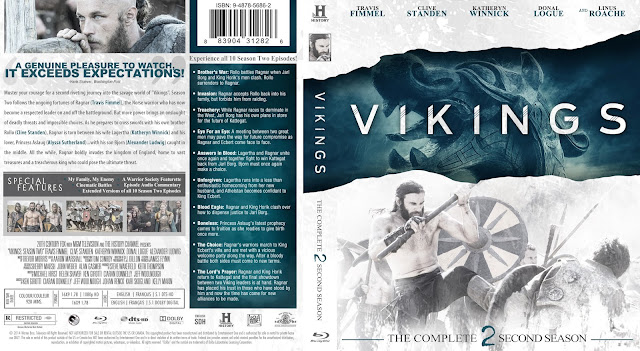 Vikings Season 2 Bluray Cover