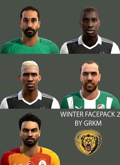 PES 2013 Winter Facepack Update 2