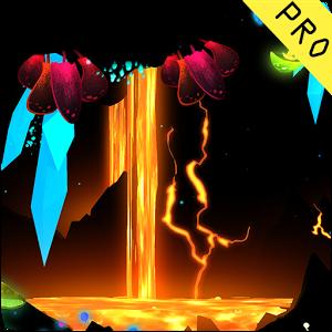 3D ရုပ္ထြက္ အမိုက္စားေလး live wallpaper -3D Fantasy Epic Lava Cave LWP v1 APK