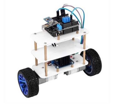 How to make a self balancing robot with arduino