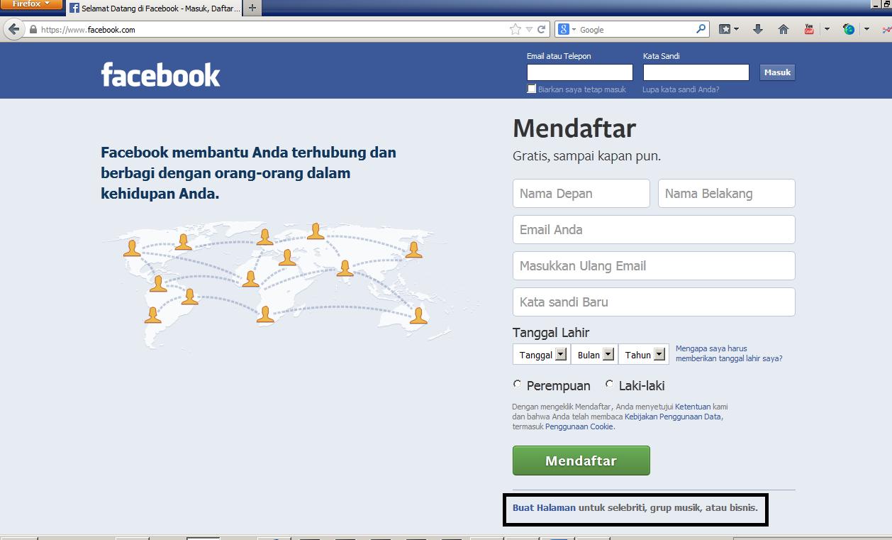 Cara membuat akun Bisnis di Facebook - Segala Seputar Internet