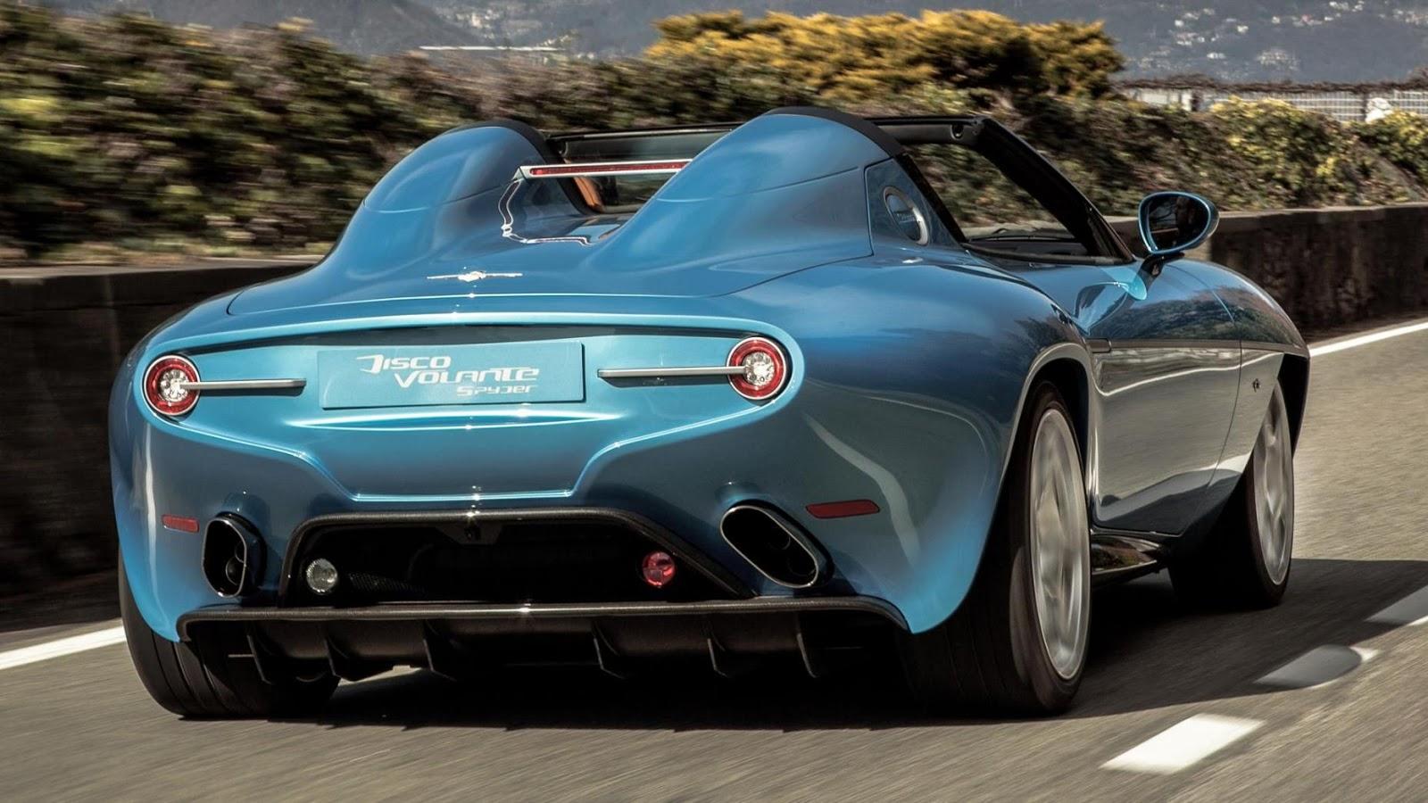 2016 Touring Superleggera Disco Volante Spyder