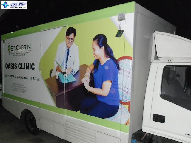 Vehicle Wrap - Cabrini Medical Center