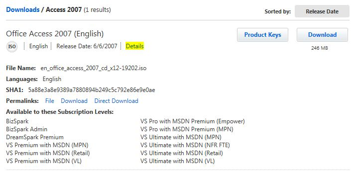 FetchMyTip: MSDN downloads without Akami download manager