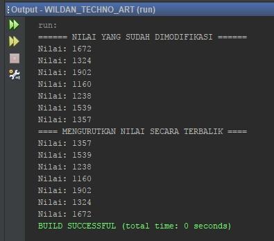 Memodifikasi Nilai Menggunakan ListIterator pada Java